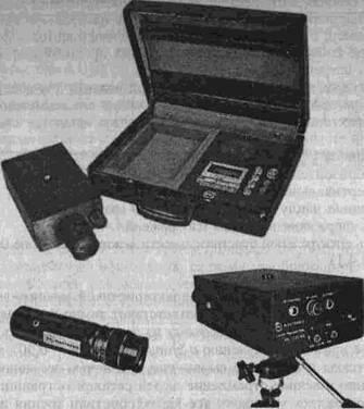 Внешний вид лазерной системы
